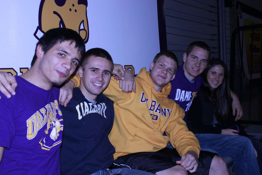 Were you seen at UAlbany home opener? Photo: Charles Vella