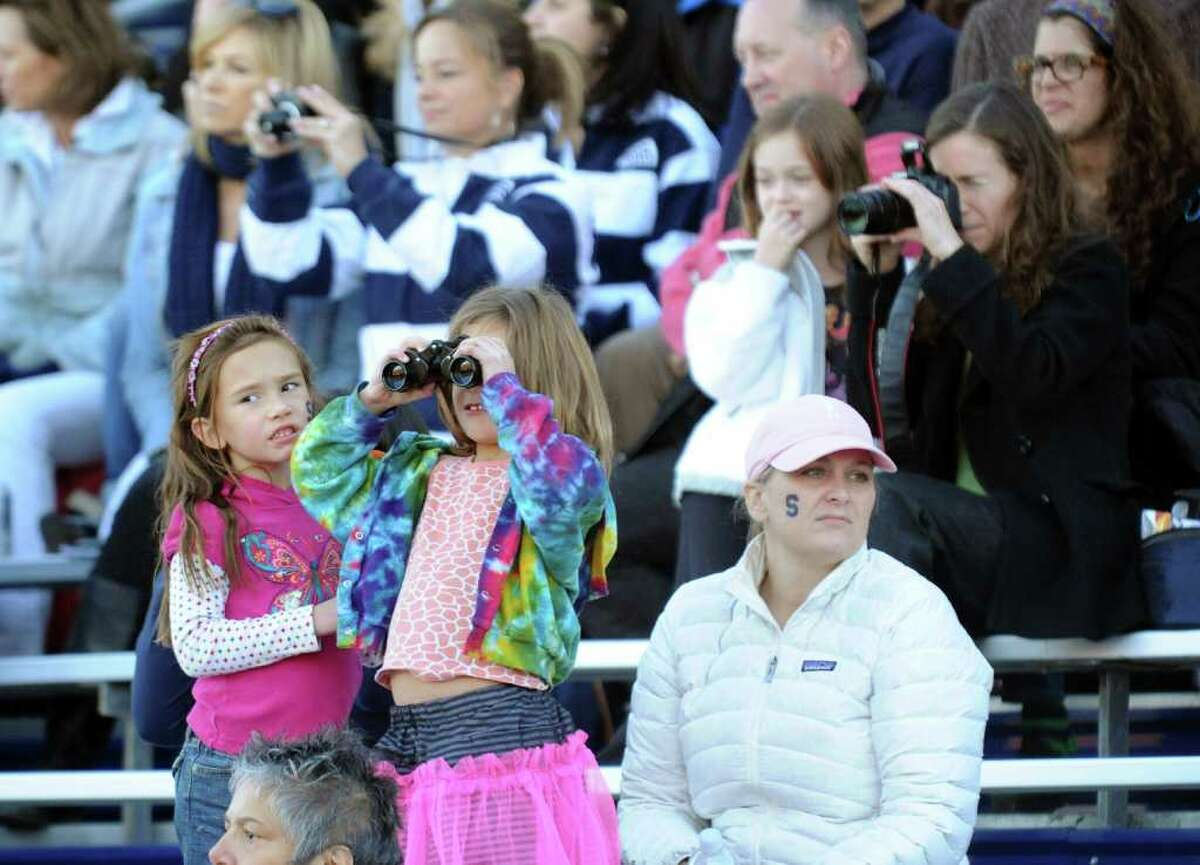 Highlights of football action between Staples and Trumbull in Westport, Conn. on Saturday November 13, 2010.
