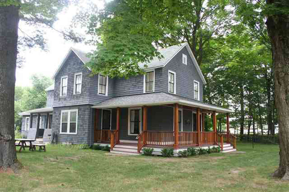 This house at 37 Nelson Ave. in Saratoga Springs is on the market for $3 million. Find out more in Places and Spaces.