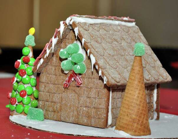 A Gingerbread House Decorated By Nina Rosenblum 10 Of