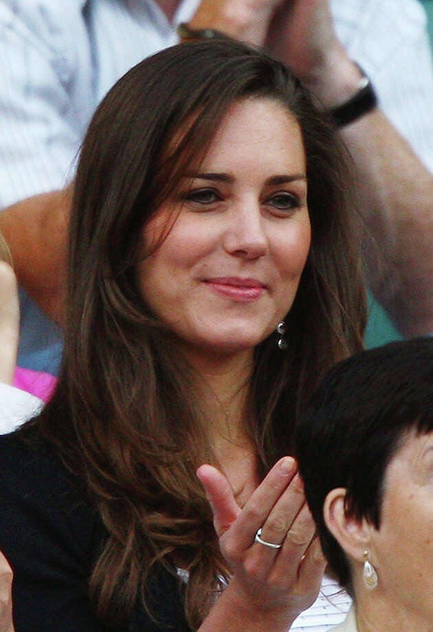 LONDON - JUNE 28:  Prince William's girlfriend Kate Middleton attends day six of the Wimbledon Lawn Tennis Championships at the All England Lawn Tennis and Croquet Club on June 28, 2008 in London, England.  (Photo by Ryan Pierse/Getty Images) Photo: Ryan Pierse, Getty Images / 2008 Getty Images