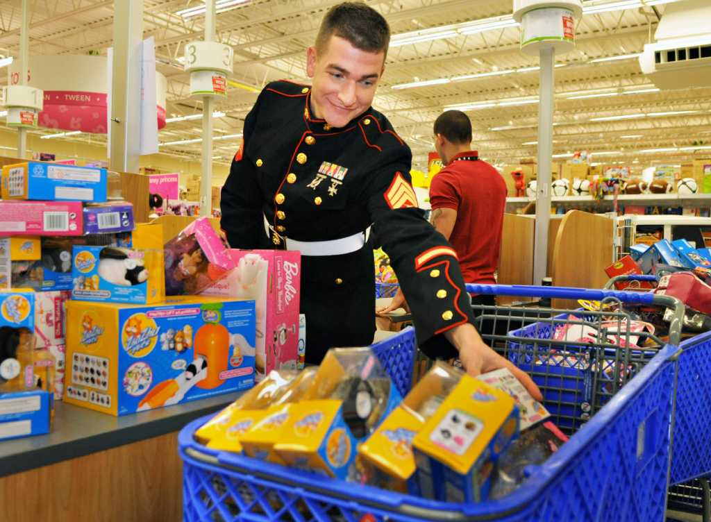 Toys For Tots History : Photos toys for tots shopping spree times union