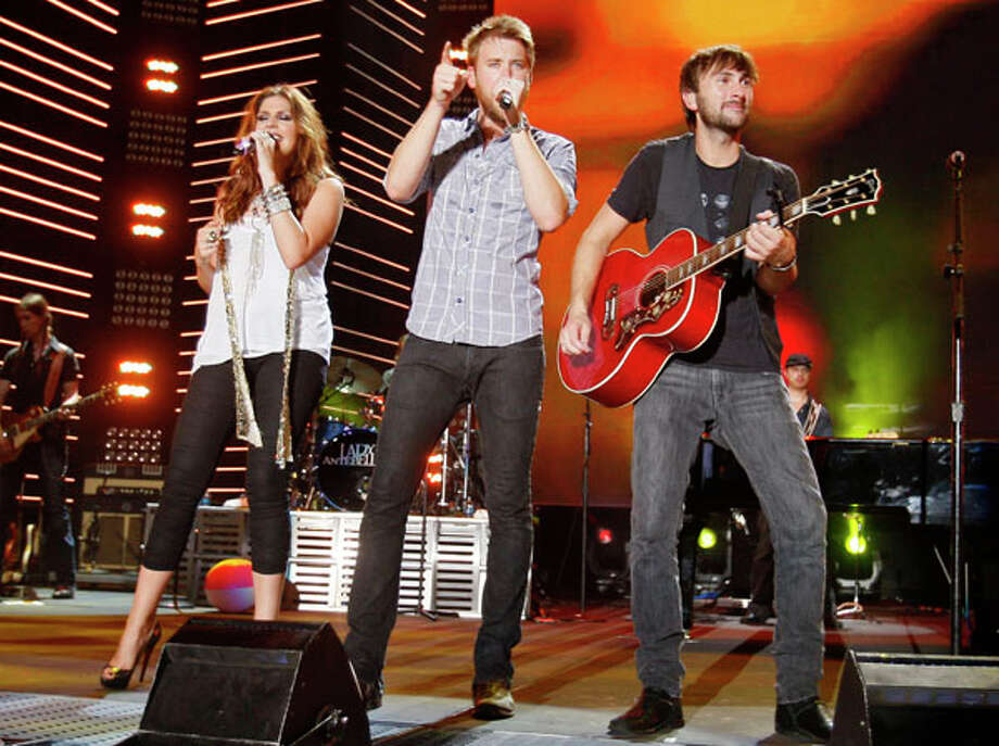Lady Antebellum will perform the National Anthem at Game 2 of the 2010 World Series. AP Photo/Wade Payne / FR23601 AP