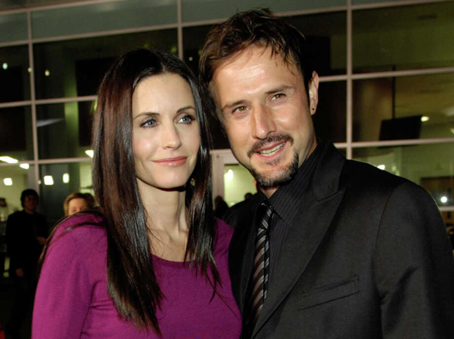 Courteney Cox poses with her husband, David Arquette, Feb. 28, 2008. The couple said Monday they have been separated for some time. AP Photo/Chris Pizzello, file / 2008 AP