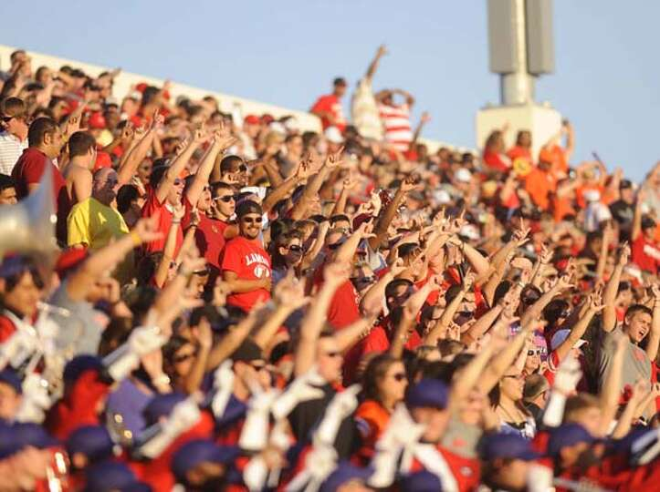 Lamar University will play its first Homecoming football game since 1989 on Saturday. Valentino Maur