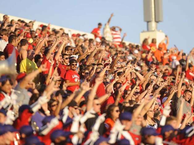 Lamar University will play its first Homecoming football game since 1989 on Saturday. Valentino Mauricio/The Enterprise / Beaumont