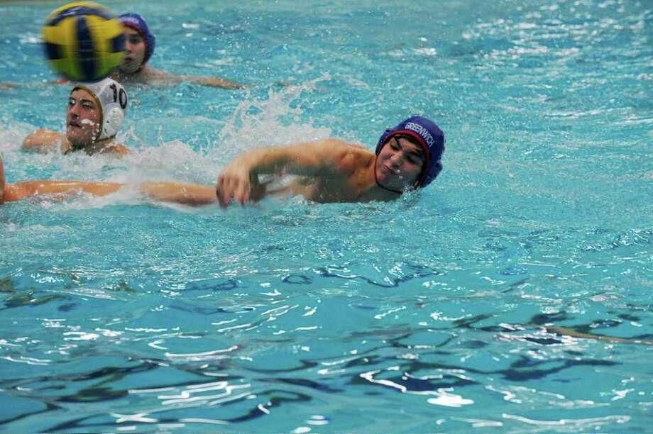Greenwich High's Matt Fraser takes a shot during the weekend's Mid-Atlantic Tournament. Photo: Contributed Photo / Greenwich Time Contributed
