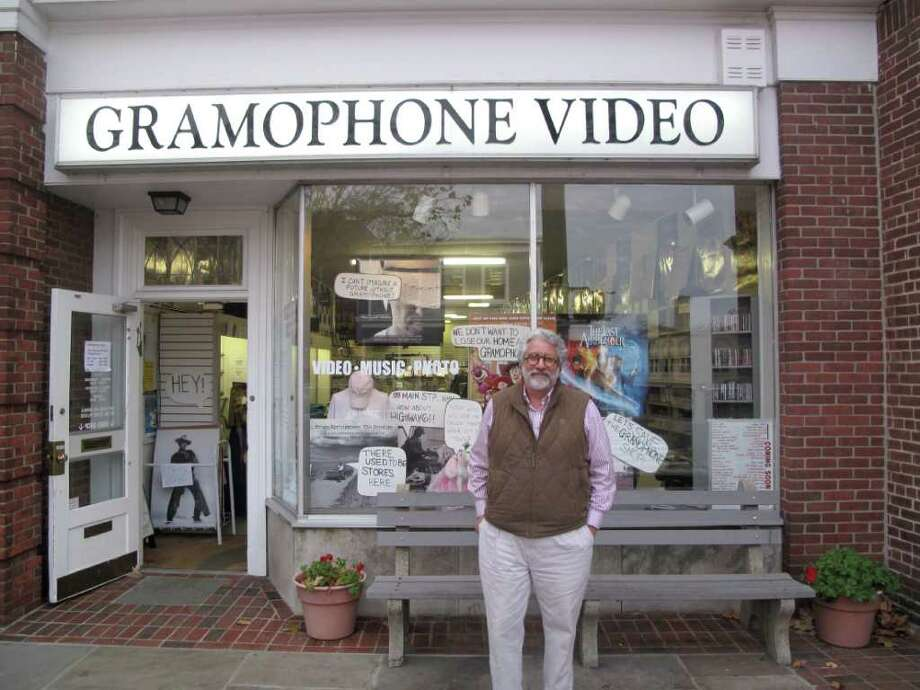 Jack Trifero in front of his store Photo: Contributed Photo / New Canaan News