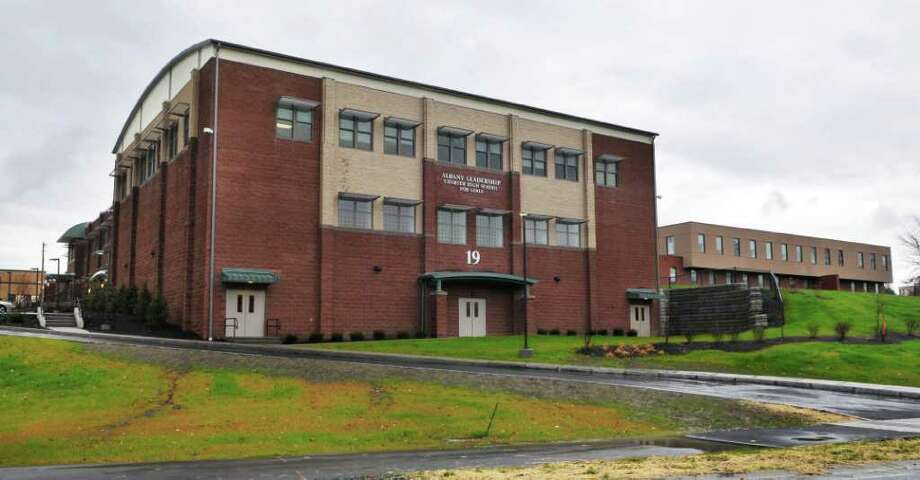 Exterior of the Albany Leadership Charter High School for Girls on Hackett Boulevard in Albany Wednesday November 17, 2010.  (John Carl D'Annibale / Times Union) Photo: John Carl D'Annibale / 00011096A