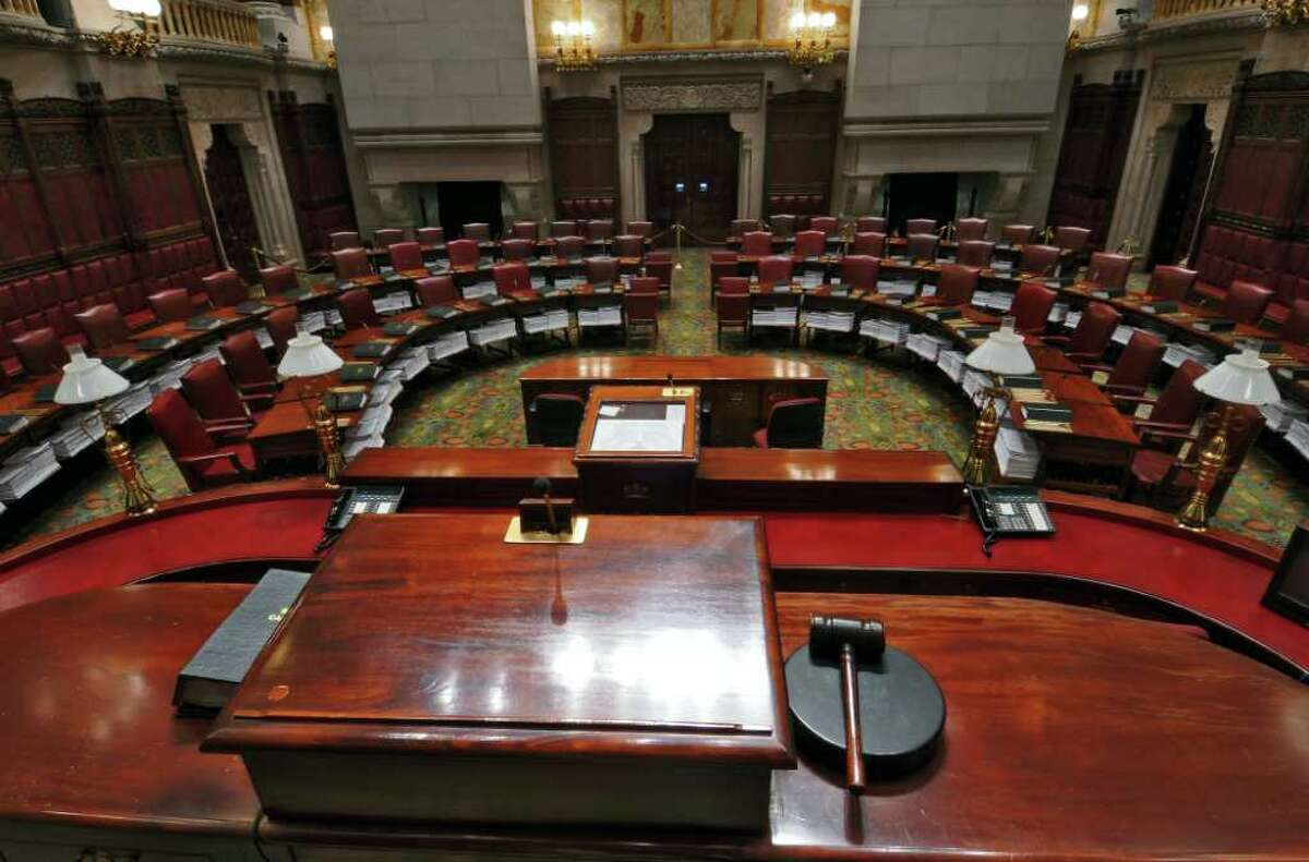 Control of the state Senate remains in doubt as Gov.-elect Andrew Cuomo seeks a workable Legislature. ( Philip Kamrass / Times Union )