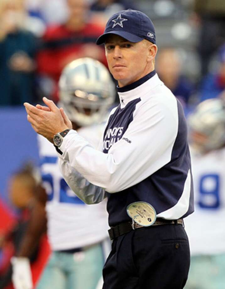 """Interim coach Jason Garrett says a coach must avoid """"having too much sympathy for the players"""" yet still be able to gain their confidence."""