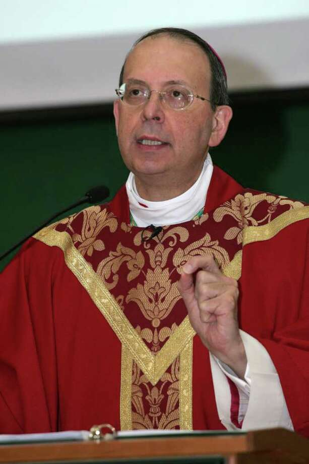 Bishop of the Diocese of Bridgeport, William E. Lori Photo: File Photo / Connecticut Post File Photo