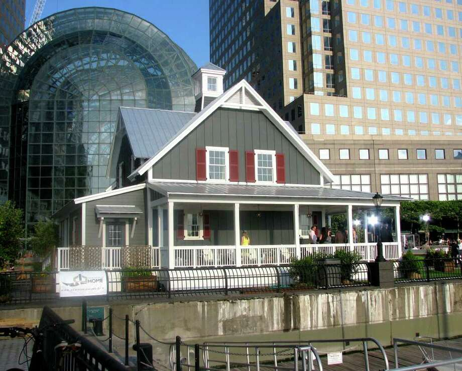 A New World Home built by contractor Mark Verrastro, formerly  of New Milford, sub-contractor Jared Stein of New Miford and others in Manhattan, spring 2010.  Courtesy of Lisa Stein Photo: Contributed Photo / The News-Times Contributed