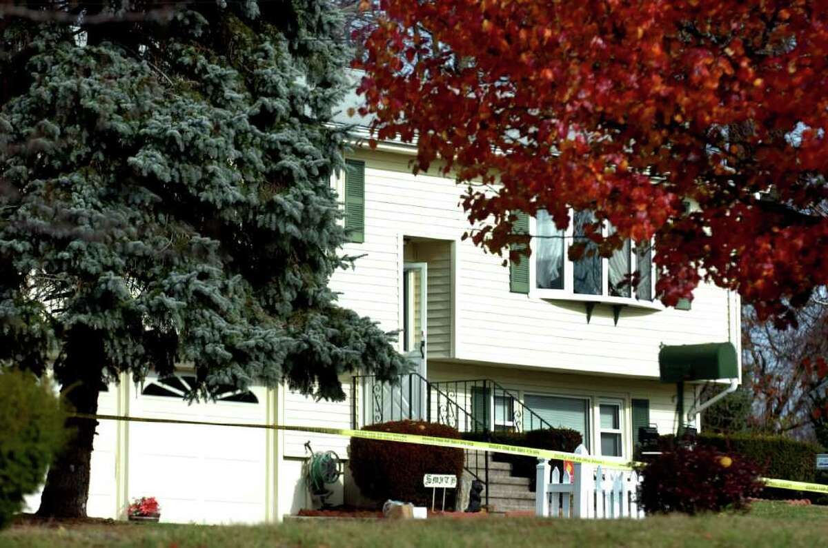 An intruder broke into a home at 40 Seabreeze Drive in Stratford, Conn. early Friday November 19, 2010. The intruder scuffled with the home's occupant, Robert