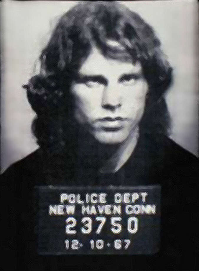 Florida Gov. Charlie Crist is leading efforts in the Sunshine State to pardon the late Doors singer Jim Morrison of indecency charges. Morrison was arrested in Miami for indecent exposure at a 1969 concert, but Governor Crist insists it's time for lawmakers to forgive and forget. In Connecticut Morrison was arrested in December for exposing himself during at concert at the New Haven Arena. Is a pardon also in the works for Morrison in Connecticut? Is not so easy, officials say. Photo: Contributed Photo / Connecticut Post Contributed
