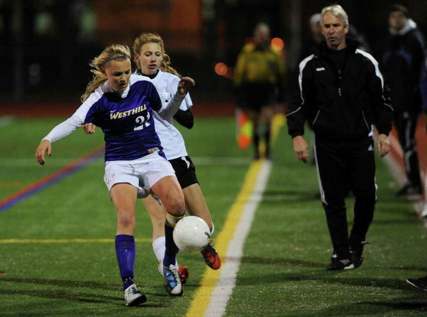 Highlights from Class LL girls final championship soccer match between Shelton and Westhill in Norwalk, Conn. on Friday November 19, 2010.