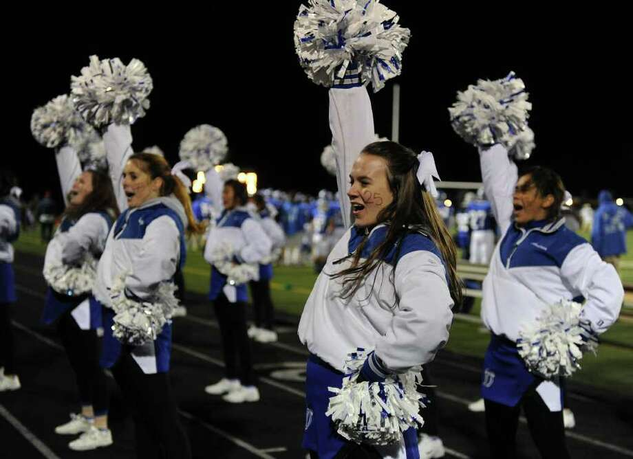 Friday's FCIAC football championship game betweenTrumbull High School and Darien High School on November 19, 2010. Photo: Lindsay Niegelberg / Connecticut Post