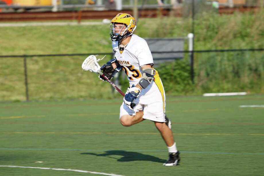 Eddie Hutchins was a First Team All-SWC selection in lacrosse last spring and he'll be a tri-captain this spring. Photo: Contributed Photo / Betsy Peyreigne