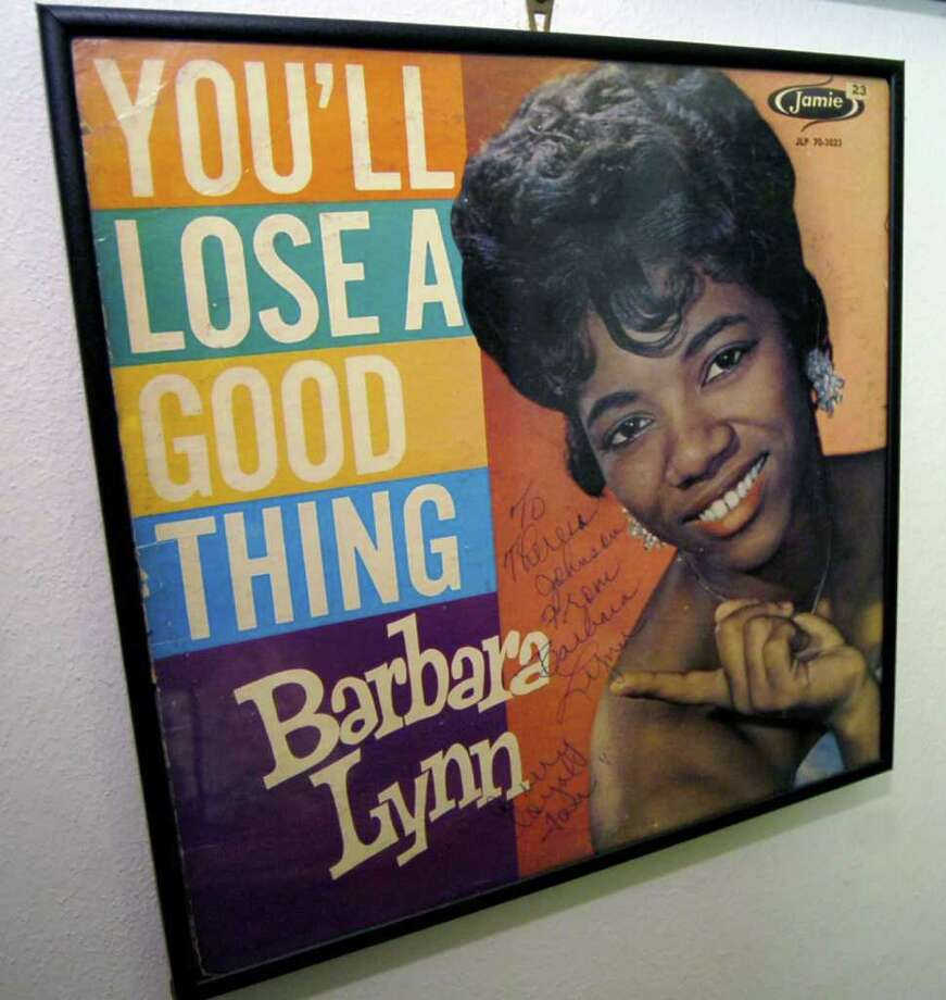 """Barbara Lynn's 1962 album cover for hit song, """"You'll Lose a Good Thing."""" Dave Ryan/The Enterprise / Beaumont"""