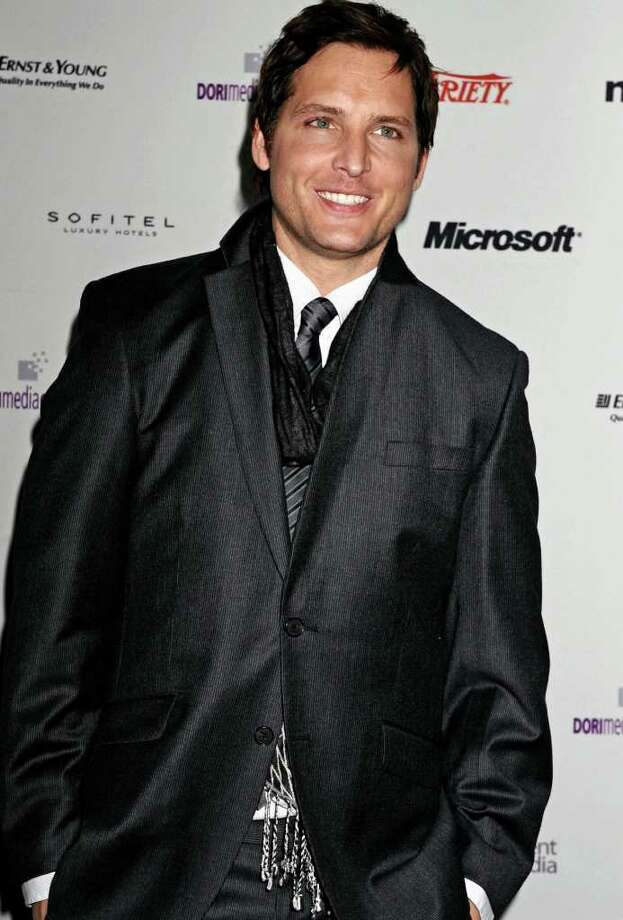 Actor Peter Facinelli arrives at the 38th International Emmy Awards, Monday, Nov. 22, 2010, in New York. (AP Photo/ Louis Lanzano) Photo: Louis Lanzano