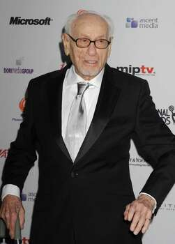 Eli Wallach arrives at the 38th International Emmy Awards, Monday, Nov. 22, 2010, in New York. (AP Photo/ Louis Lanzano) Photo: Louis Lanzano
