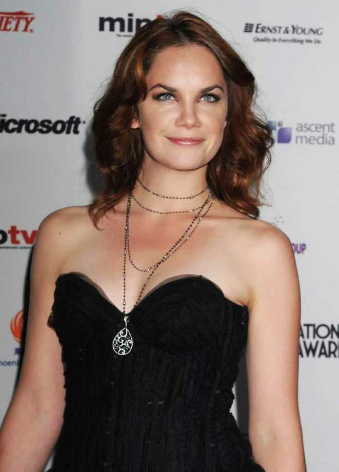 Actress and presenter Ruth Wilson arrives at the 38th International Emmy Awards, Monday, Nov. 22, 2010, in New York.  (AP Photo/Louis Lanzano) Photo: Louis Lanzano