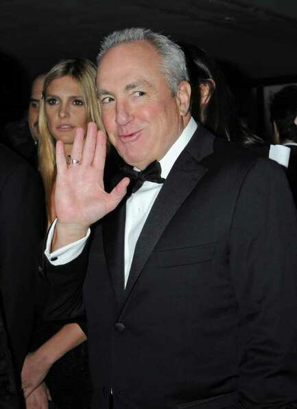 Saturday Night Live producer Lorne Michaels arrives at the 38th International Emmy Awards, Monday, N