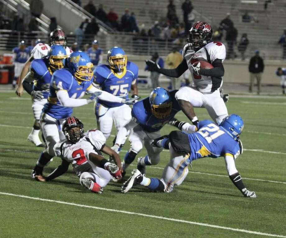Kirbyville vs Waco LaVaga Photo: Jason Dunn