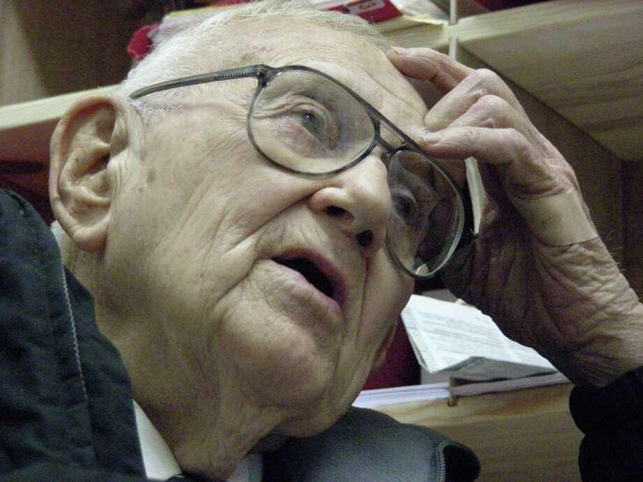 Dr. Joe Dickerson, 96, died Wednesday in a Lufkin hospital.  File photo/The Jasper Newsboy