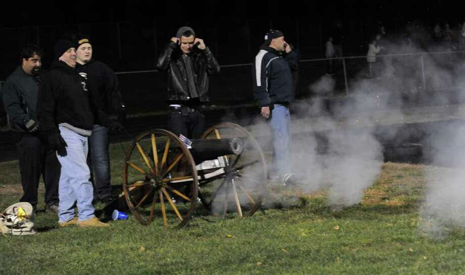 Football action highlights between St. Joseph and Trumbull in Trumbull, Conn. on Wednesday November 24, 2010. Photo: Christian Abraham / Connecticut Post