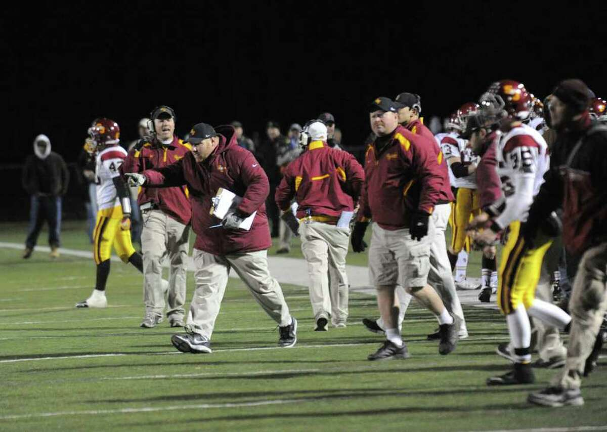 Football action highlights between St. Joseph and Trumbull in Trumbull, Conn. on Wednesday November 24, 2010.