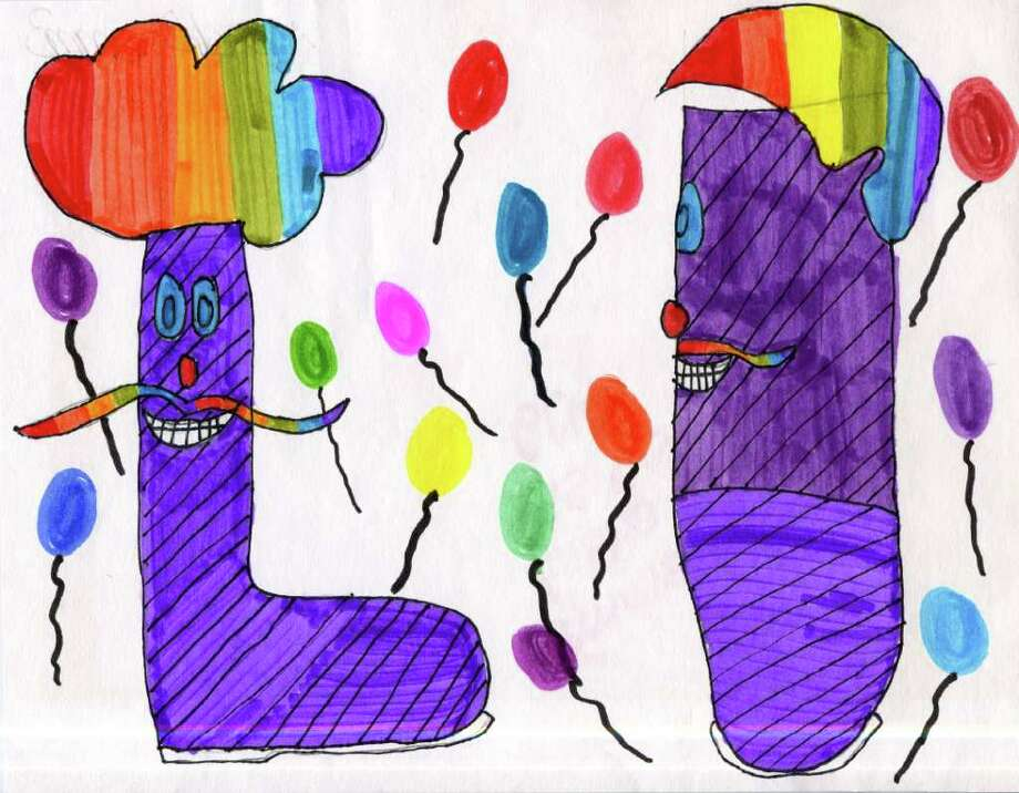 Shoe design by Emma Gleason Grade 6 Lisha Kill Middle School 11/10/10 Times Union