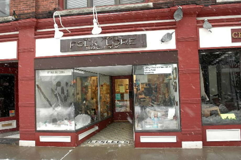 The Folklore Society storefront on Jay Street in Schenectady. (Times Union archive)