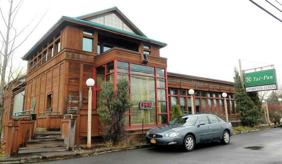 Tai-Pan Chinese Restaurant, at top, is an airy and minimalist restaurant in Halfmoon. (Luanne M. Ferris / Times Union) Photo: Luanne M. Ferris