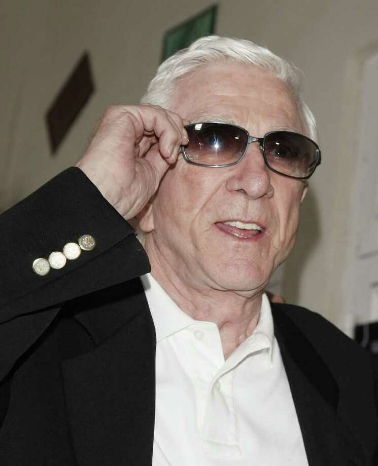 "LOS ANGELES - MARCH 27:  Actor Leslie Nielsen arrives at the premiere of Dimension Film's ""Superhero Movie"" at the Mann Festival Westwood on March 27, 2008 in Los Angeles, California. (Photo by Kevin Winter/Getty Images) *** Local Caption *** Leslie Nielsen Photo: Kevin Winter, Getty Images / 2008 Getty Images"