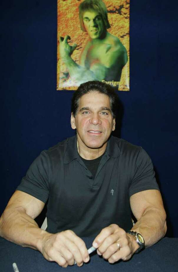 American actress Lou Ferrigno  attends the National Cosplay Championships as part of the Supanova Pop Culture Expo at the Dome at Olympic Park on June 19, 2010 in Sydney, Australia. Cosplayers and comic book and sci-fi fans from across the state gathered to meet like-minded folk and attend guest panels with the stars of some of the popular television shows and publications of the genre.  (Photo by Sergio Dionisio/Getty Images) Photo: Sergio Dionisio, Stringer / Getty Images AsiaPac