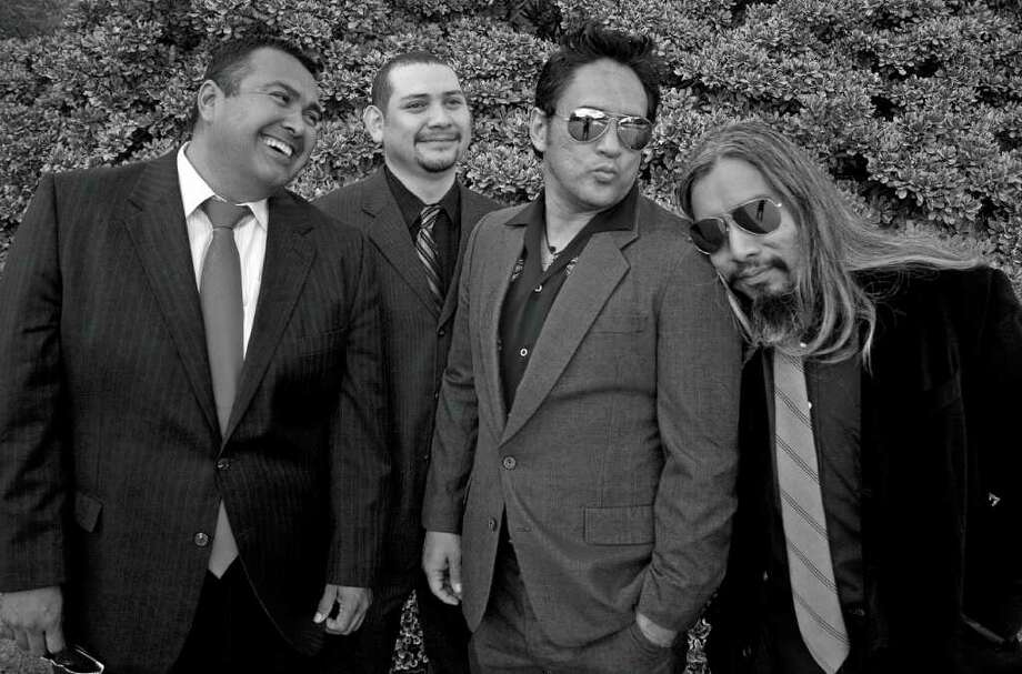 Sun*Day will present its final Thanksgiving show Thursday night at White Rabbit. The band members are (from left) Rikko, John Ramos, Rick Rios and Eddie Hernandez. Photo: COURTESY SUN*DAY