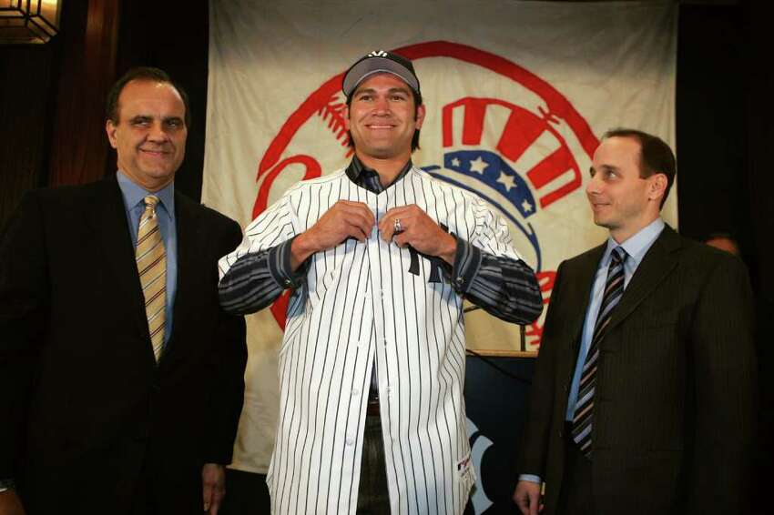 Johnny Damon Outfielder who won a World Series with both the Yankees and the Red SoxEndorsement: