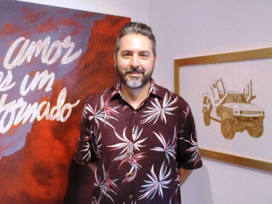 "Ricky Armendariz's exhibition, ""Yah Me Voy a Therapy,"" is on view at REM Gallery."