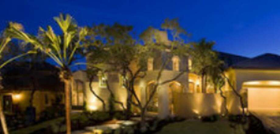 >Mike Hollaway Custom Homes showcased this Tuscan-styled 4,533-square-foot home at 24031 Gran Palacios in Cibolo Canyons Palacios for the 2008 Parade of Homes.