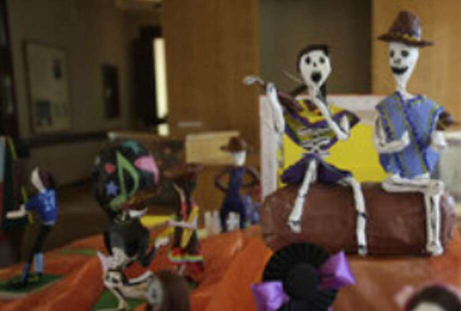 About 400 South San students pour their hearts into creations made of papier-mache, wire, paint and other materials donated by La Villita and the city of San Antonio.