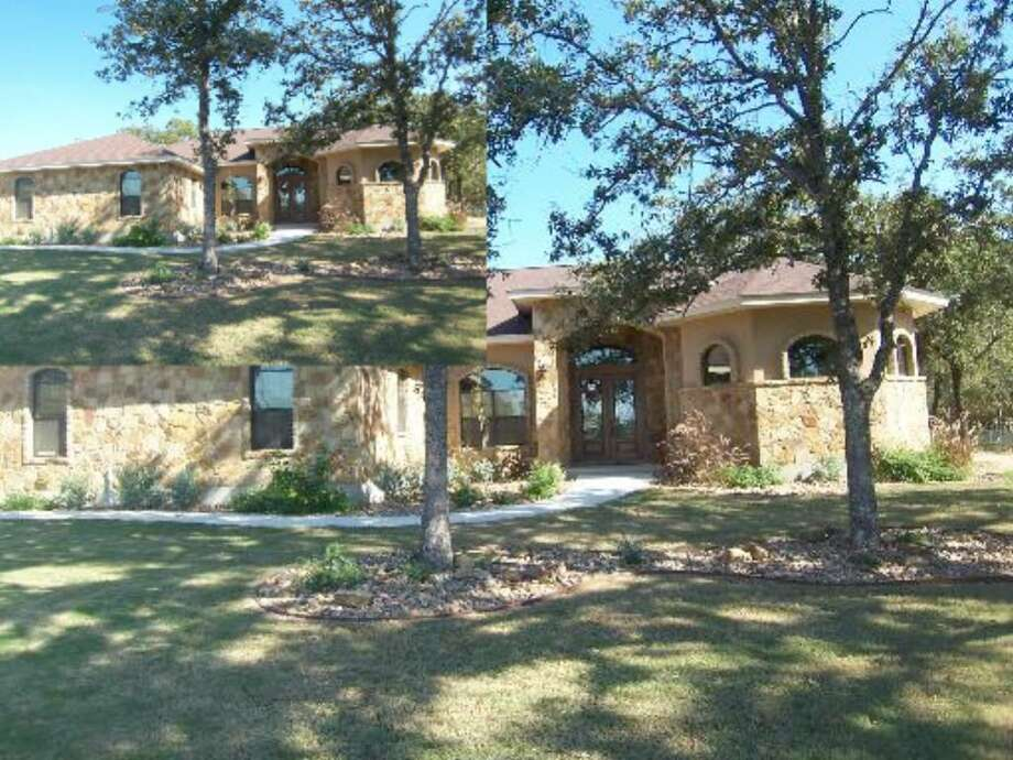 One-story, 1-year-old house sits on a cul-de-sac  in La Vernia, just 25 minutes from downtown San Antonio.
