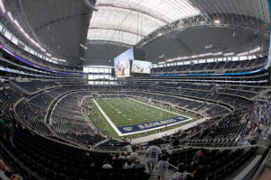Cowboys Stadium can seat about 72,000, but for special events, it can top 100,000. The Cowboys' inaugural home opener at the stadium Sunday against the Giants should draw '104-105,000,' Cowboys owner Jerry Jones said.