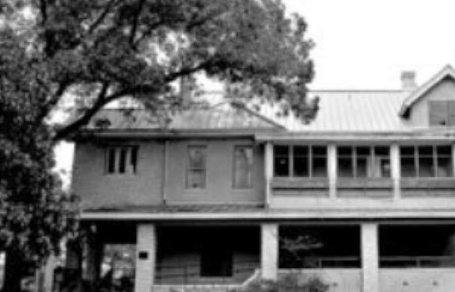 Eleanor and Maj. Gen. John M. Bennett Jr. lived in the house near McAllister Auditorium. The home was bought by SAC in 1974.
