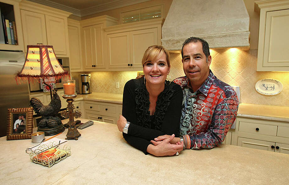 Lisa and Mando Lozano remodeled the kitchen in their 1928 Alta Vista bungalow.