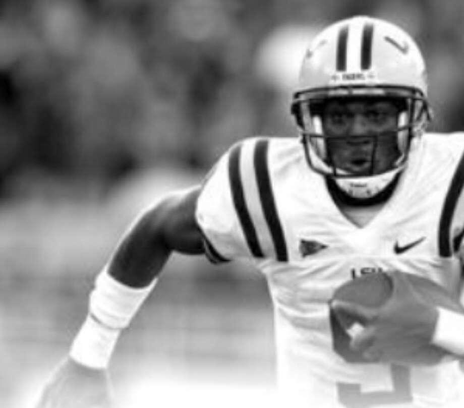 LSU quarterback Jordan Jefferson