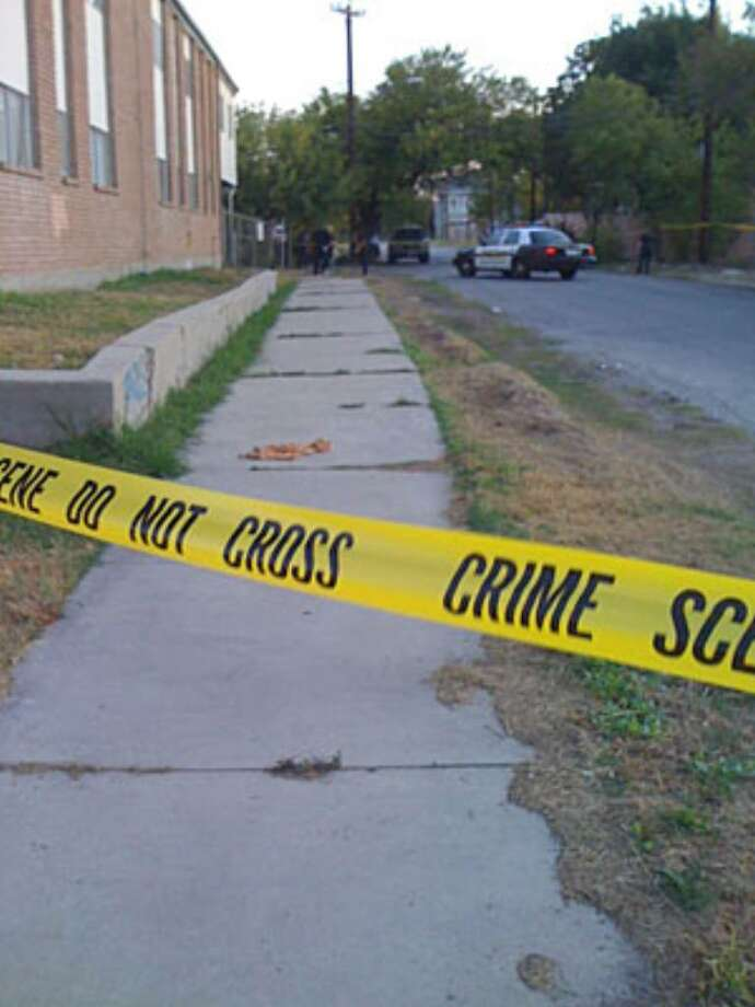 The shooting occurred on the 600 block of Ogden outside the Town House Apartments overnight.
