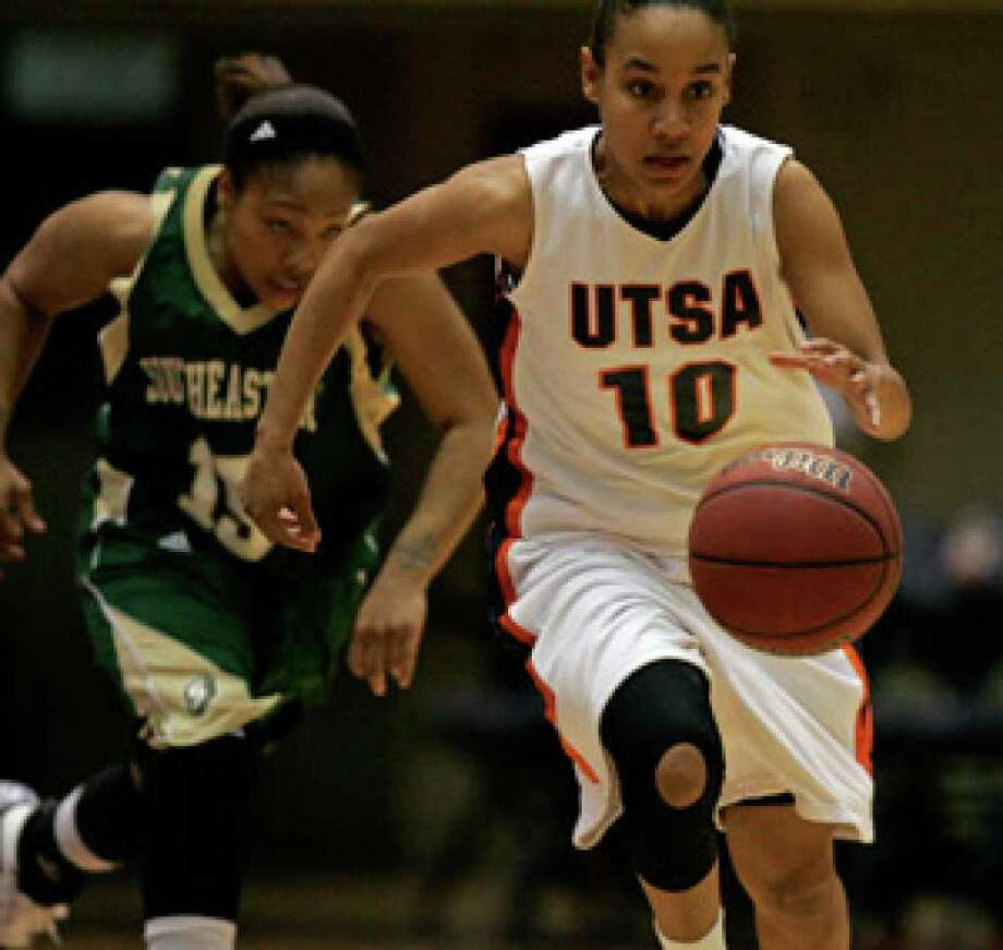 As a freshman and sophomore, guard Amber Gregg played a big part in UTSA earning back-to-back Southland Conference titles and NCAA tournament berths.