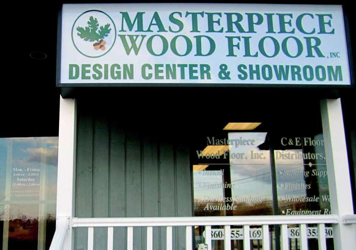SPECTRUM/Masterpiece Wood Fllors business along Route 7 South in New Milford. November 2010