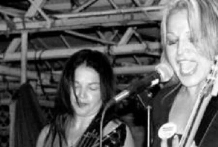 The all-female heavy metal Heather Leather has regrouped and is playing Maniac's Rock Bar Friday.